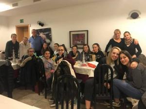U15/3 Lega - Cena di Natale 12.2017 - presso Ristorante Pizzeria Mimosa.